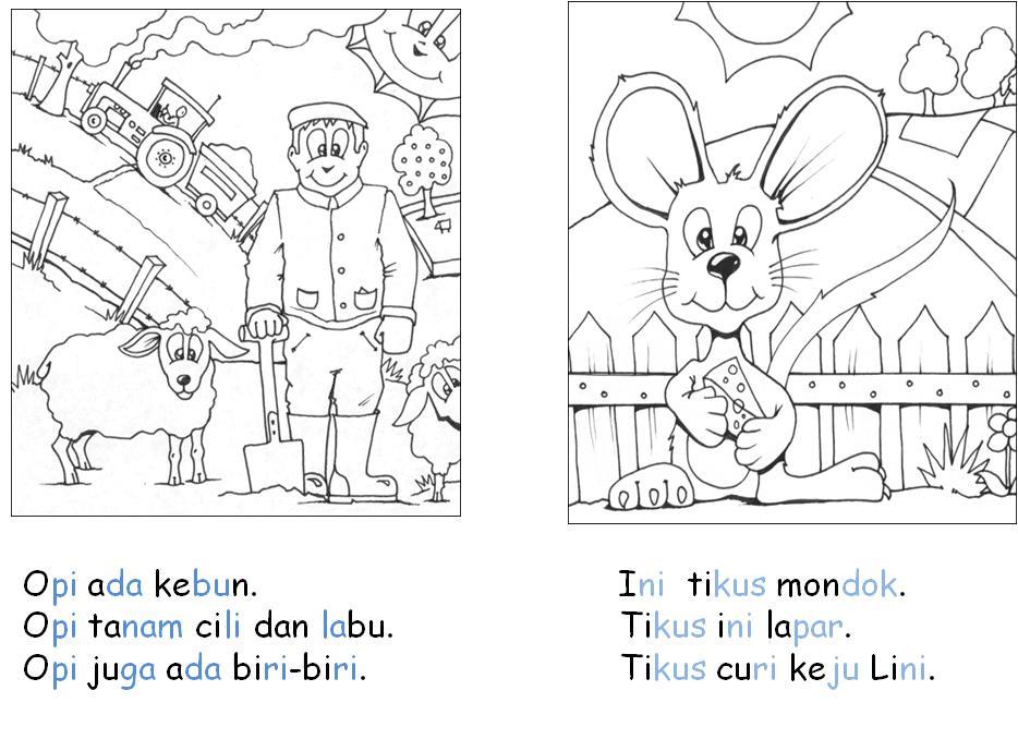 Cikgu Eela Il Preschoolers Pce Bahan Baca