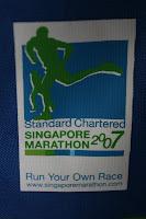 Singapore Marathon …… 42.195km …. Here I come !
