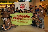 Mount Kinabalu DSG Trekkers