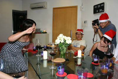 Christmas Dinner Gathering at Nick & Shirley Home on 22 December 2006