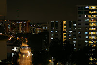 Night Sceneries from Singapore Heartlands