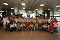 24th July 2007 – Arrival of Hawaiian Scout Troop 42