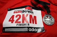 Sundown Marathon 2008 Finisher