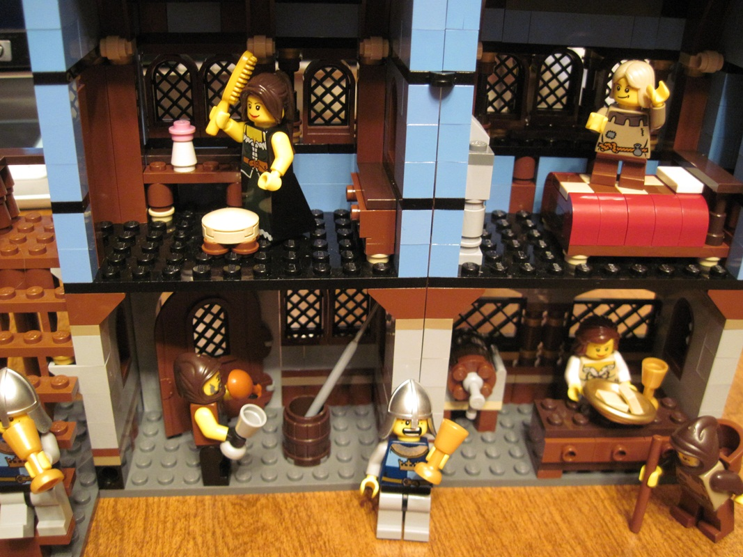 Reviews Of Unusual Size!: Lego Review - Medieval Market ...