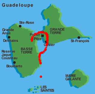 Guadeloupe Karte.The Soccer Insiders The Curious Case Of Guadeloupe Soccer