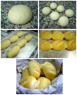 como hacer pan casero con harina 0000 sin levadura