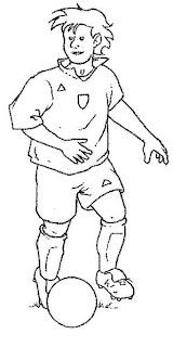 Imagens De Futebol Para Imprimir E Colorir Desenhos E Riscos