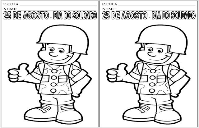 Resultado de imagem para dia do soldado 25 de agosto