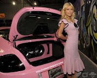 Galeria de fotos - Paris Hilton - carro Bentley 8