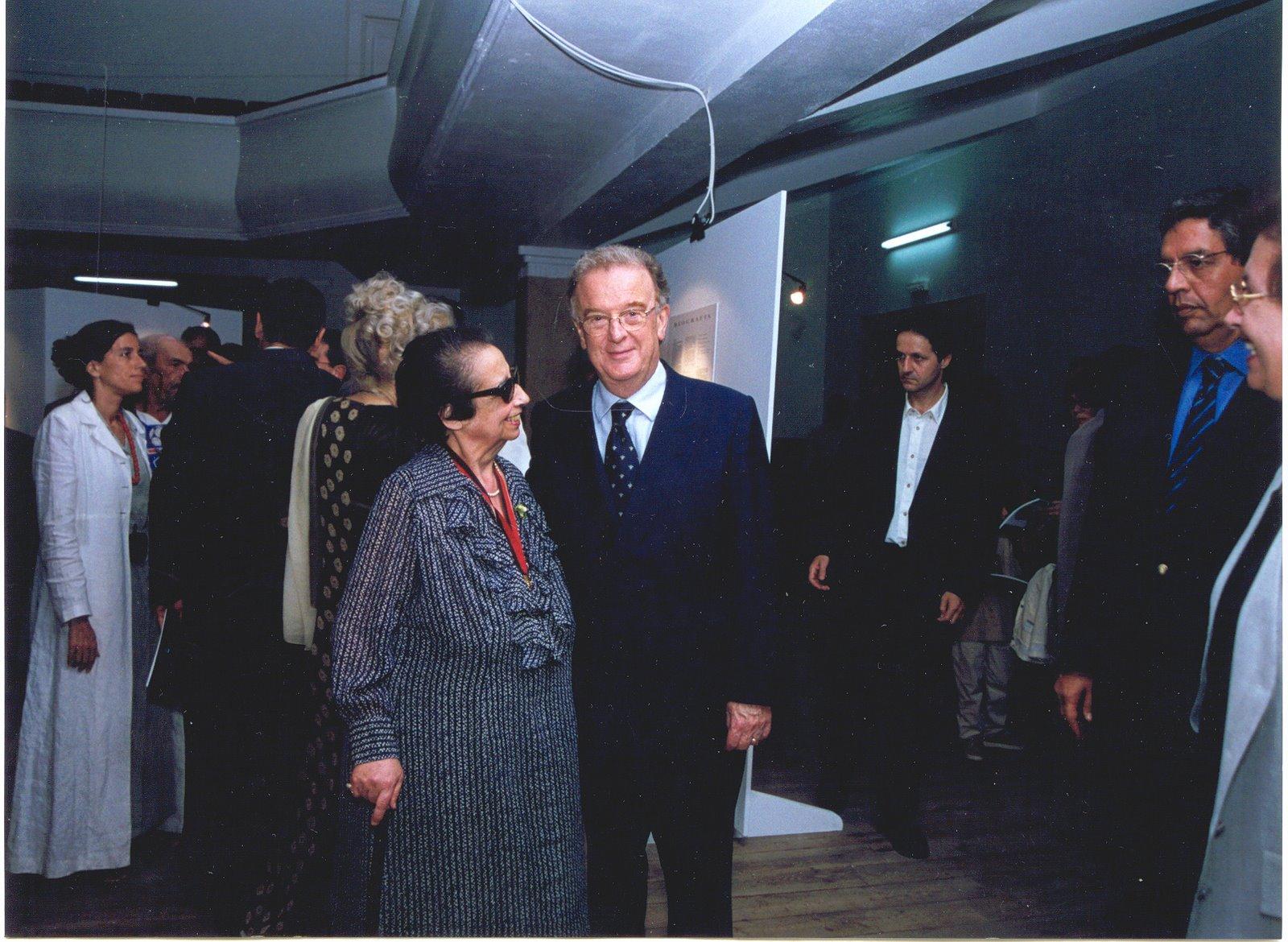 Com o Presidente da República Jorge Sampaio
