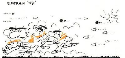 dibujo de la revista Triunfo