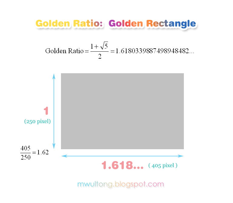 황금비 직사각형