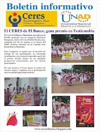 Boletín informativo CERES