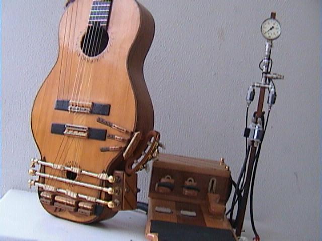kertsopoulos pneumatic foot pedal guitar. Black Bedroom Furniture Sets. Home Design Ideas