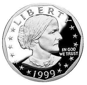 Susan B. Anthony U.S. Dollar Coin