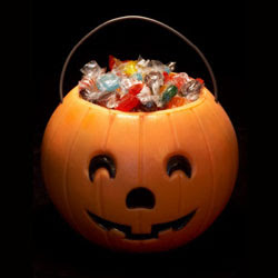 Halloween Pumpkin Filled with Candy, Source: FDA