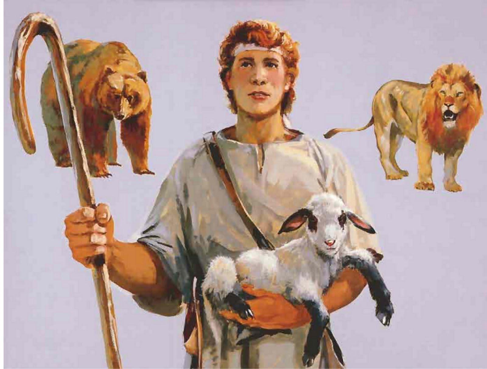 Resultado de imagem para davi matou o leão