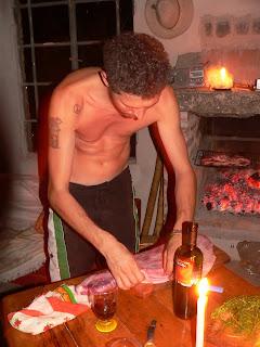 Mauro bereidt de matambre