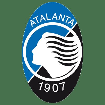 Fútbol: Imágenes del escudo del Atalanta de Italia
