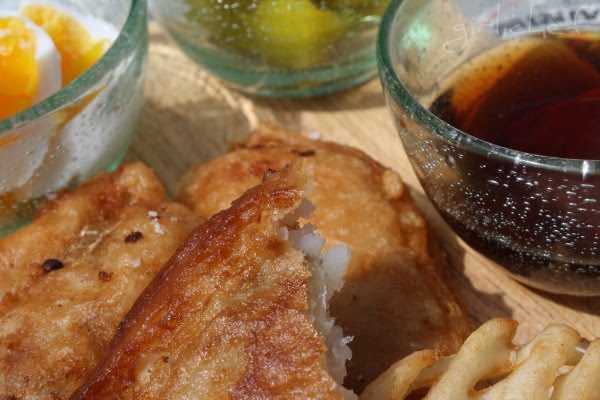 Chish and fips for <i>Eating for England...</i>