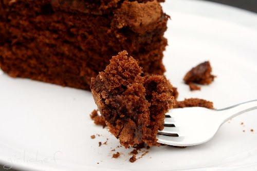 Chocolate Cake w/ Chile & Espresso inspired by Chocolat