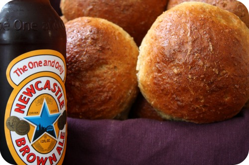 Oatmeal Brown Ale Rolls (or Bread)