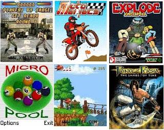 télécharger 25 Jeux de Portable