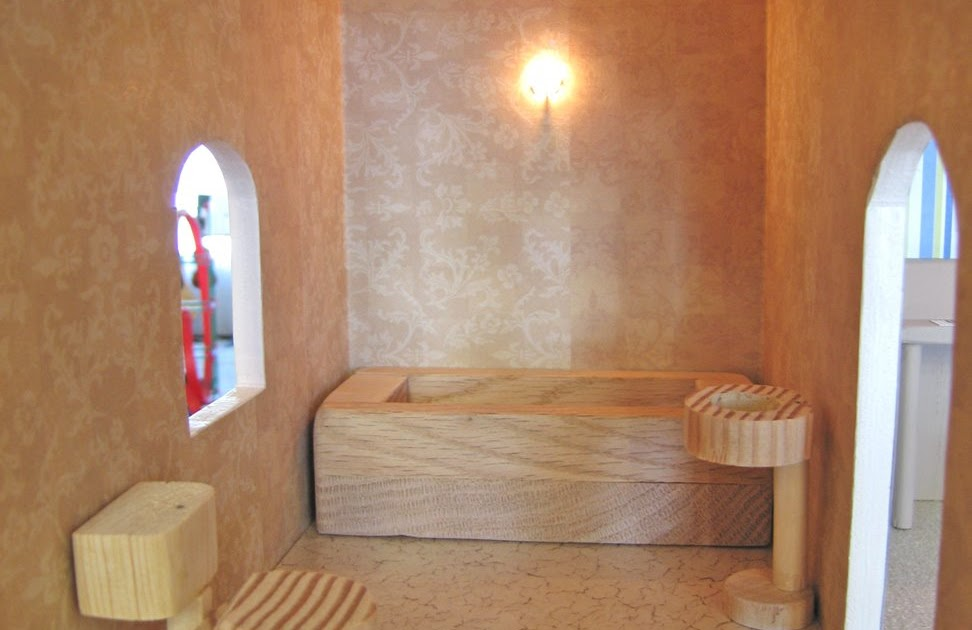 sofa in a box cheap vintage camel back dollhouse decorating!: how to make some basic homemade ...