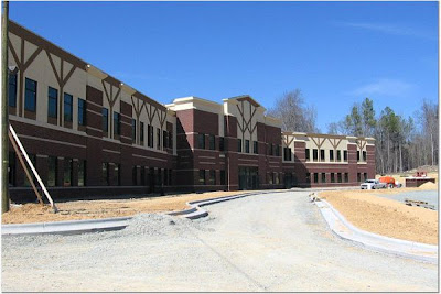 Woods Charter School Building Progress Continues