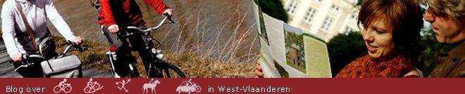 Blog over fietsen, wandelen, mountainbiken, paardrijden en toeren in West-Vlaanderen