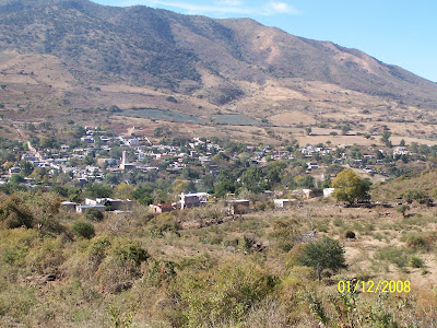 El Molino, Jalisco visto desde el Cerro Viejo