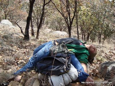 el ascenso al Cerro los Bailadores