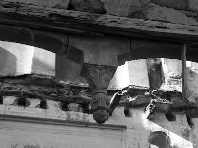 Vista de los adornos de la Hacienda de San José de Gracia