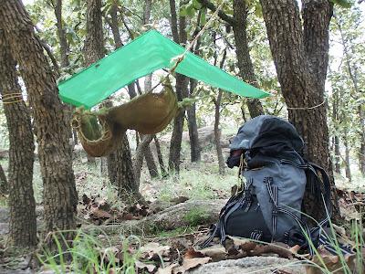 Durmiendo al aire libre en el Cerro Jacal de Piedra, Zapopan