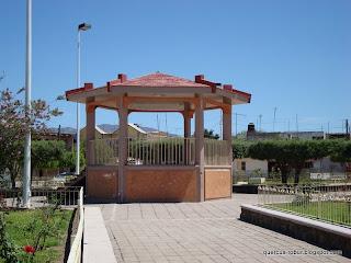 Kiosko en Huaxtla