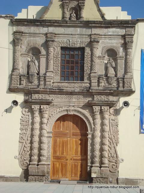 Fachada del Templo de Nuestra Señora de la Soledad