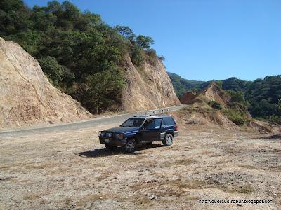 Lugar de descanso en la carretera Mascota Vallarta