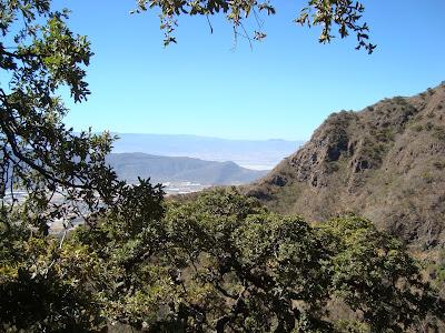 Vista al Sureste desde el Cerro Viejo