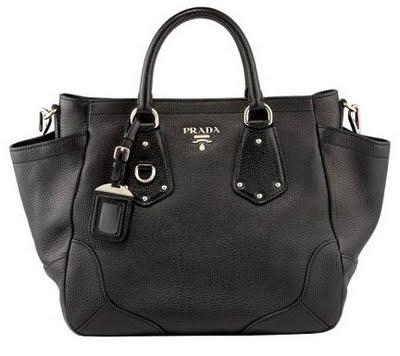 Prada Vitello Daino Tote - A Must Have Bag for Multi-Tasking Busy Women.