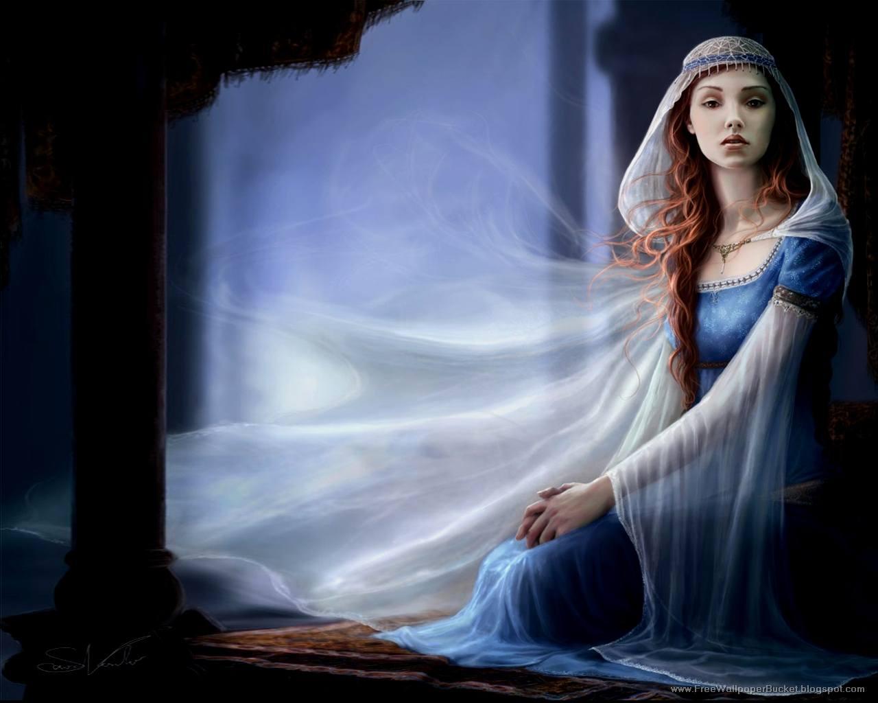 beautiful girl fantasy wallpaper - photo #23