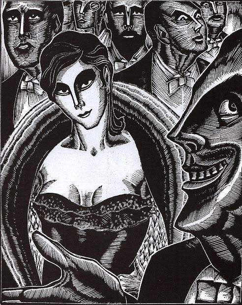 "Nocturnal Dept. ""gods' Man"" 1929 Lynd Ward"