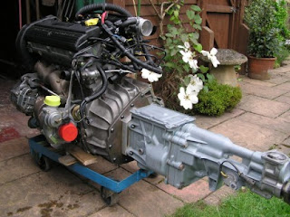 Conversion to Ford Type 9 Gearbox