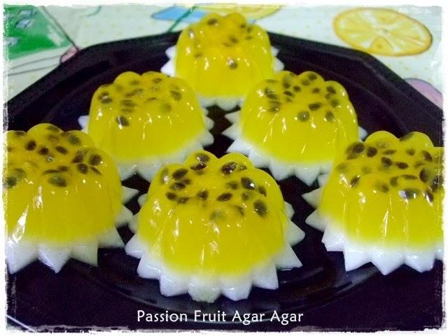 Vegan Jelly Cake Recipe: Tested & Tasted: Passion Fruit Agar-agar