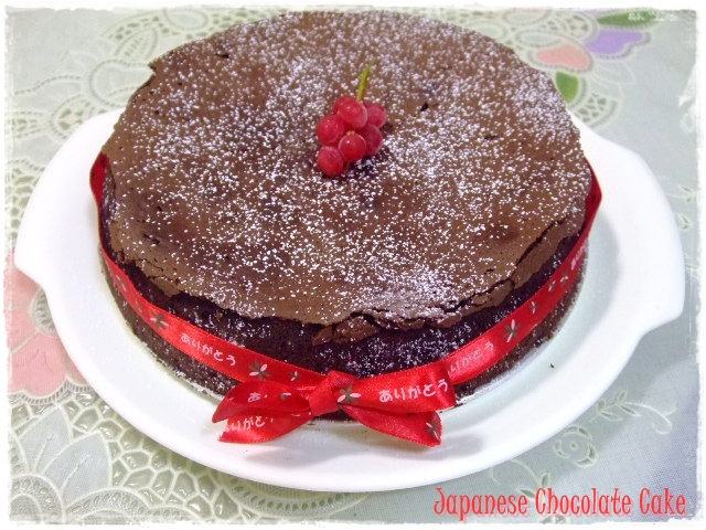 Japanese Microwave Cake Recipe: Tested & Tasted: Japanese Chocolate Cake