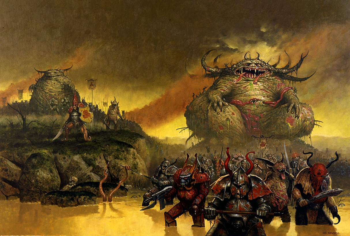 Realm of Chaos 80s: Citadel Miniatures: How much is too much?Warhammer 40k Chaos Gods Names