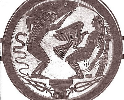 Prometheus, Attika ve Şiddet ....