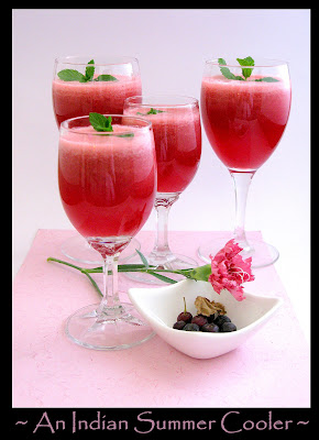 Sherbet Berry Coolers