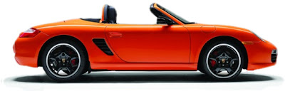 Orange County Orange Porsche Boxter