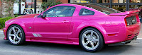 Pink Molly Pop Mustang