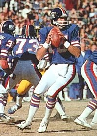 71d60ea9d Craig Morton (pictured at left) threw for 1510 yards in eight games for the  Giants with 9 TD passes and 13 interceptions. His 29.6 pass attempts per  game ...